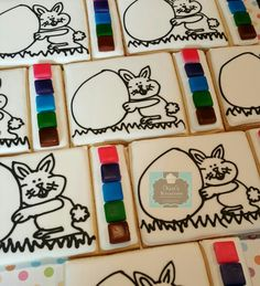 Easter paint your own sugar cookies PYO Keri's Kreations