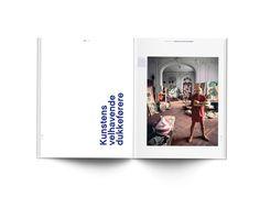 Minimalist Editorial Design for VÆRK Magazine