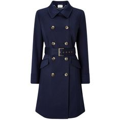Buy Windsmoor Trench Coat, Navy, 14 from our Women's Coats & Jackets range at John Lewis & Partners. Navy Trench Coat, Trench Coats, Plus Size Trench Coat, Blue Coats, Cute Jackets, Vintage Coat, Classic Looks, Autumn Winter Fashion