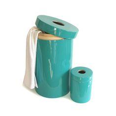 Ekobo Ringo Laundry panier à linge design en bambou laqué couleur