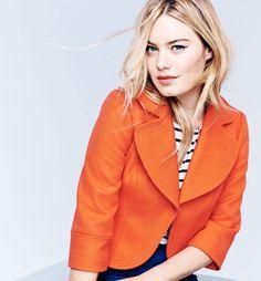 Boden Lola jacket & Breton Top. #SS15