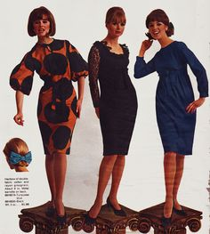 All sizes | Sears 64 fw 3 dresses | Flickr - Photo Sharing!