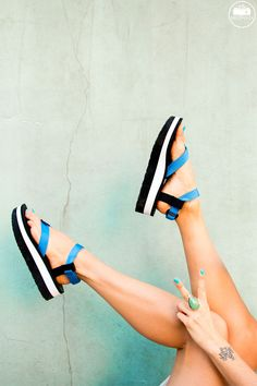 0edf867afd2 do the hotpants in teva flatform sandals