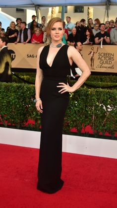 All The Looks At The 2017 SAG Awards Amy Adams