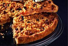 Recette de tarte aux pommes croustillantes et aux raisins de Robuchon par Sophie