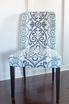 A tutorial if I ever get the urge to make different slipcovers for our IKEA chairs. Might buy these and just make covers....