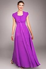 This unique design called  Flirty Purple and Bow Strap for Fabulous Gown  which can show females' curve perfectly. This dress made of Chiffon fabric, featuring on Ruche embellishment and its Square neckline is the bestseller of Classic Bridesmaid Dresses And we also offer various of wedding party dresses in the latest designs leading the fashion trends. - $110.69