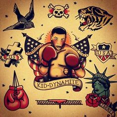 traditional boxing tattoo - Google Search