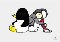 今週のとんぼせんせい「ペンギンとガール」