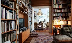 I would absolutely love to have a room totally devoted to my books one day--believe me, I'll have enough for the space.