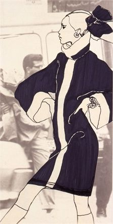 Antonio Lopez Antonio Lopez #Illustration, fashion illustration, fashion, art, illustration, drawing, painting
