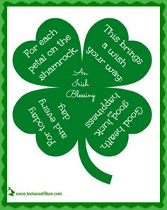 17 Irish Blessings f