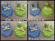 RECUERDOS DE BABY SHOWER PARA NIÑO EN FOAMY O GOMA EVA. - YouTube