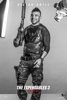 Victor Ortiz as Mars. #TheExpendables3