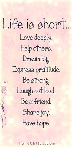 Happy Quotes : Life is short. - Hall Of Quotes Great Quotes, Quotes To Live By, Me Quotes, Motivational Quotes, Uplifting Quotes, Life Is Short Quotes, Beautiful Short Quotes, Humor Quotes, Happy Quotes