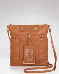 $278 MARC BY MARC JACOBS Preppy Leather Sia Crossbody Bag