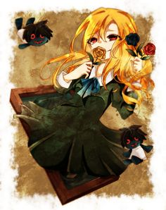 Mary (Ib)/#1755895 - Zerochan Rpg Maker, Ib And Garry, Ib Game, Sarra Art, Mad Father, Rpg Horror Games, Witch House, Kawaii, Indie Games