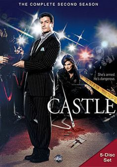 Castle: The Complete Second Season (DVD)  The second season of CASTLE chronicles the unique bond between a pair of unlikely friends: crime novelist Richard castle, and no-nonsense NYPD detective Kate Beckett. Despite the odds, they work well together when it comes to solving very real crimes. Includes never-before-seen footage, on-set bloopers, and exclusive footage from behind-the-scenes.