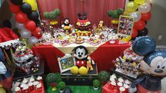 Happy birthday theme mickey mouse