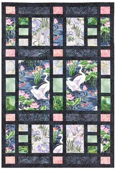 Quilt Pattern - From Me To You - Shoji Screen