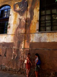 The Classical Street Art of Borondo