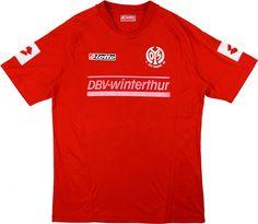 1. FSV Mainz 05 (Germany) - 2004/2005 Lotto Home Shirt
