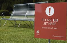'Warning' Signs That Encourage You To Do The Opposite - England National Trust