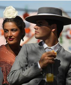 """SPAIN / Celebrations / """"Seville April Fair"""" is held in Andalusian capital of Seville, begins two weeks after the Easter Holy Week. The fair begins at midnight on Monday, and runs six days. - Feria de Sevilla"""