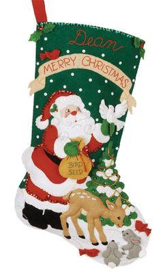 Baby's stocking? - Christmas Feast Bucilla Kit
