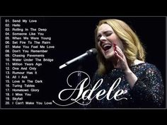 Adele 2017, Chasing Pavements, Water Under The Bridge, U Tube, Faith Hill, We Are Young, Someone Like You, Guitar Chords, When Us