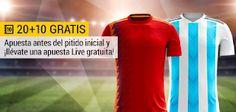 el forero jrvm y todos los bonos de deportes: bwin promocion España vs Argentina 27 marzo