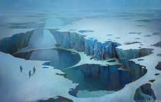 Ice planet 2 by alexson1.deviantart.com on @DeviantArt