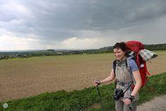 Malerweg – 1. Etappe – Wir-zwei-beide Europa Camping, Beide, Kanken Backpack, Small Places, Hiking