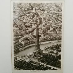 Check out this item in my Etsy shop https://www.etsy.com/listing/271048427/vintage-paris-postcards-eiffel-tower