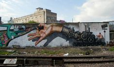Street Art in Caseros, Buenos Aires, Argentina.