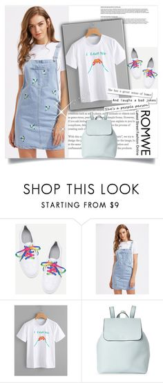 """""""romwe1"""" by gold-phoenix ❤ liked on Polyvore featuring Street Level"""