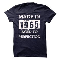 [Best t shirt names] MADE IN 1965  AGED TO PERFECTION  Teeshirt this week  MADE IN 1965  AGED TO PERFECTION!!!  Tshirt Guys Lady Hodie  SHARE TAG FRIEND Get Discount Today Order now before we SELL OUT  Camping aged to perfection bakery assistant shirt made in 1965