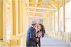 Strip District engagement session Pittsburgh, PA