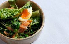 Poached Salmon Fillet Recipe With Watercress - Great British Chefs