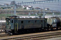 SBB Ae3/6Ⅱ 10267 Tramway, Swiss Railways, Electric Train, Electric Locomotive, Lausanne, Switzerland, Archive, Track, British