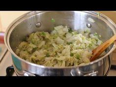 Kapusta pekińska gotowana szybko zdrowo bez zasmażki - YouTube