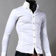 3-button Collar - White