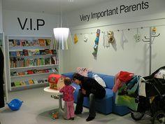 Hjørring Bibliotek Library Childrens Kids Parents VIP Area