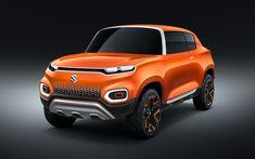 Download wallpapers Suzuki Concept Future S, 4k, 2018 cars, crossovers, japanese cars, Suzuki