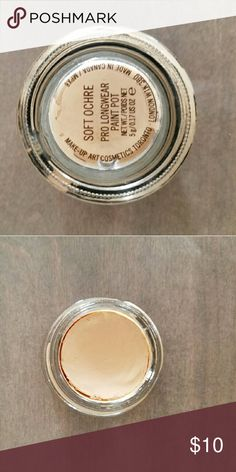 Mac soft ochre paint pot Used but on good shape. A little goes a long way so ton product left. Great for lid primer. MAC Cosmetics Makeup Eyeshadow
