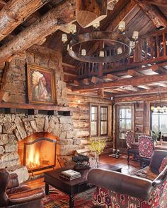 """914 Likes, 32 Comments - Whitney Kamman Photography (@wkphotography) on Instagram: """"Now this is the definition of rustic - Big timber frames, custom stonework, and a roaring fire.  I…"""""""