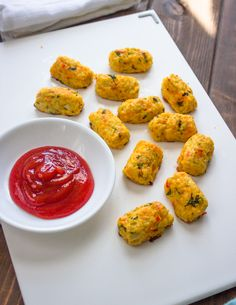 Skinny Baked Cauliflower Tots - wonder what I could substitute for the bread crumbs to keep it gluten free?