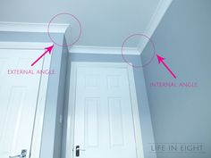 Life in Eight - Home Decorating & Organizing Blog: Coving (Crown Moulding) for Dummies