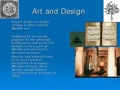 A beautiful powerpoint presentation created to show students the many contributions Muslims gave to the rest of the world. Presentation teaches the ideas of bookmaking, science and mathmatics, art and design, along with how the Muslim empire spread into Spain.