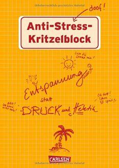 Anti-Stress Kritzelblock